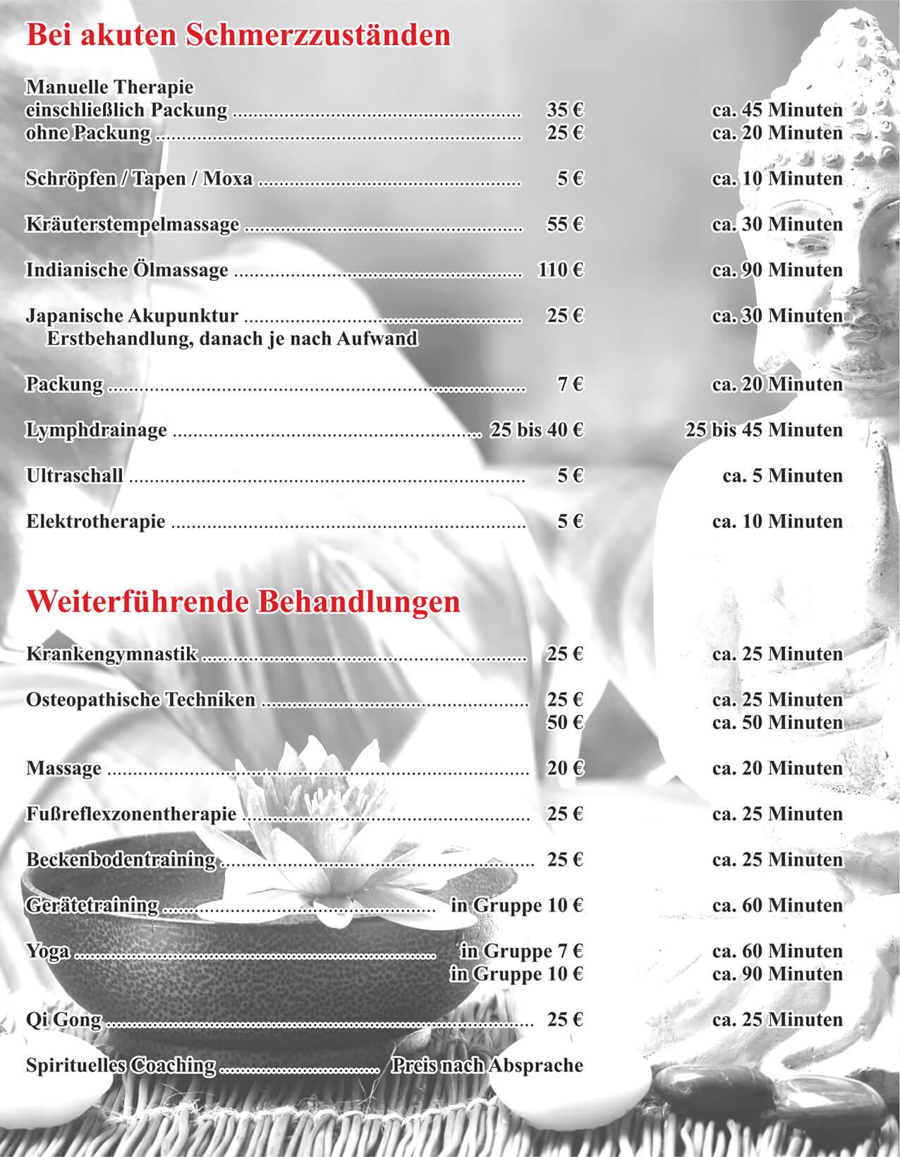 Preisliste-Physiotherapie-Zobel-Dresden
